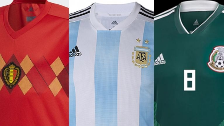a2f6cd6c1 Ranking the World Cup home shirts using just one word