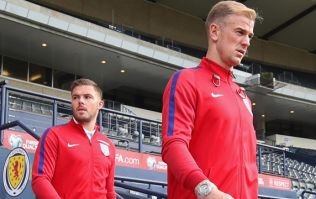 Jack Butland texted Joe Hart after World Cup squad omission