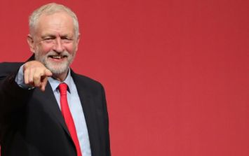 Jeremy Corbyn has called for a united Ireland