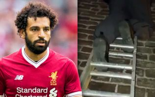 Liverpool fans unhappy as 'bitter' Everton supporters 'desecrate' Mohamed Salah effigy