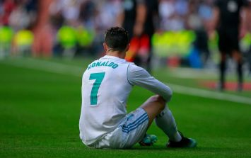 Cristiano Ronaldo has named the toughest defender he's ever faced