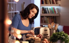 7 things that always happen during a Nigella cookery show