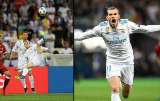 WATCH: Gareth Bale scores stunning bicycle kick in Champions League final