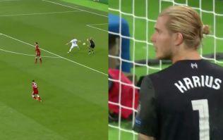 WATCH: Loris Karius gifts Karim Benzema the strangest Champions League final goal ever