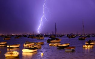 'Mother of all thunderstorms' lights up UK night skies in striking photos