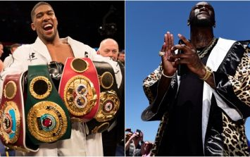 Deontay Wilder reveals when Anthony Joshua fight will happen