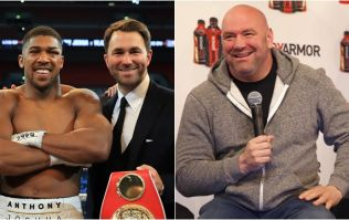 Dana White denies trying to steal Anthony Joshua from Matchroom