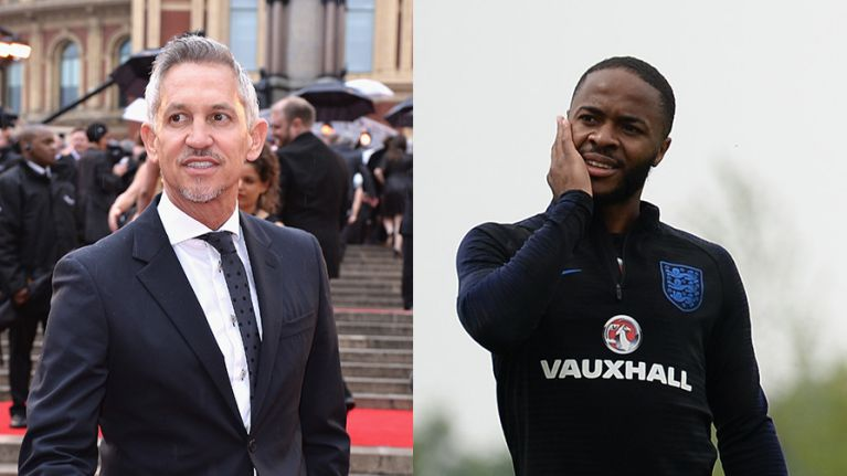 Gary Lineker calls for Raheem Sterling to be left alone by British press after gun tattoo story