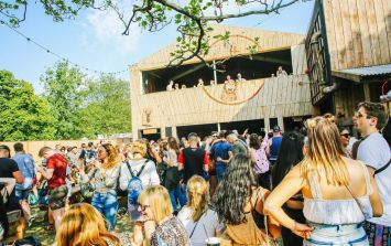 Pat Sharp's Fun House has nothing on the JägerHaus at All Points East