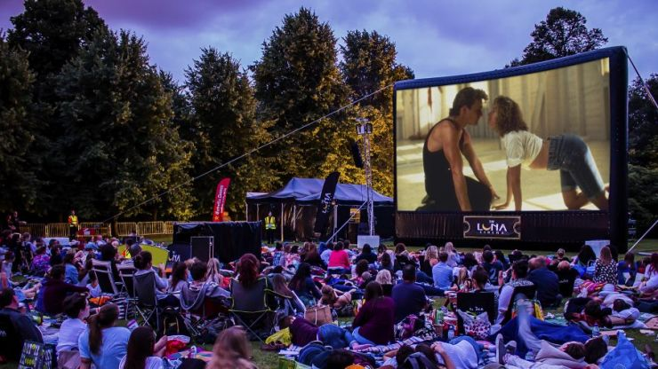 """I went to my first open air cinema and """"had the time of my life"""""""