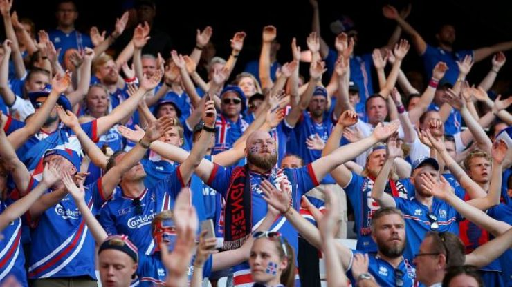 FIFA 18's World Cup mode features the Iceland 'Viking' clap celebration