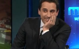 Gary Neville laughs off report that Sky Sports won't take action after Liverpool joke