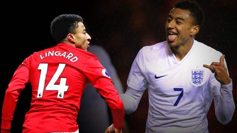 e973988c0 Jesse Lingard reacts to criticism following comments on England and Manchester  United