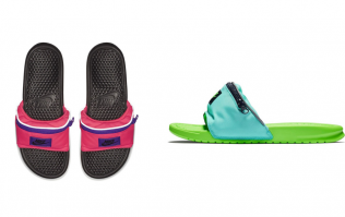 Nike's fanny pack sliders have arrived and naturally we have some questions