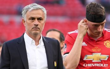 Jose Mourinho's dressing room behaviour after Man United's FA Cup defeat was striking