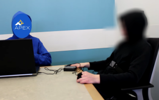 'Time traveller' who claims to be from the 65th century 'passes lie detector test' on camera