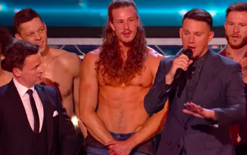 Channing Tatum appeared on BGT and people lost it completely