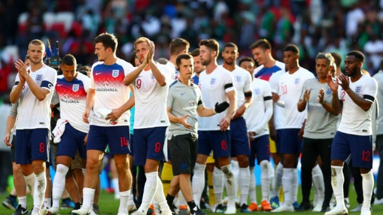 England have the youngest and most inexperienced squad going to the World Cup