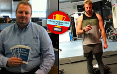 Man loses seven stone and an entire foot from waistline