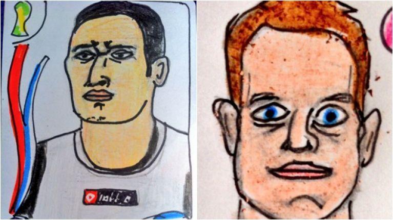 QUIZ: Name the footballer based on their Panini Cheapskates sticker