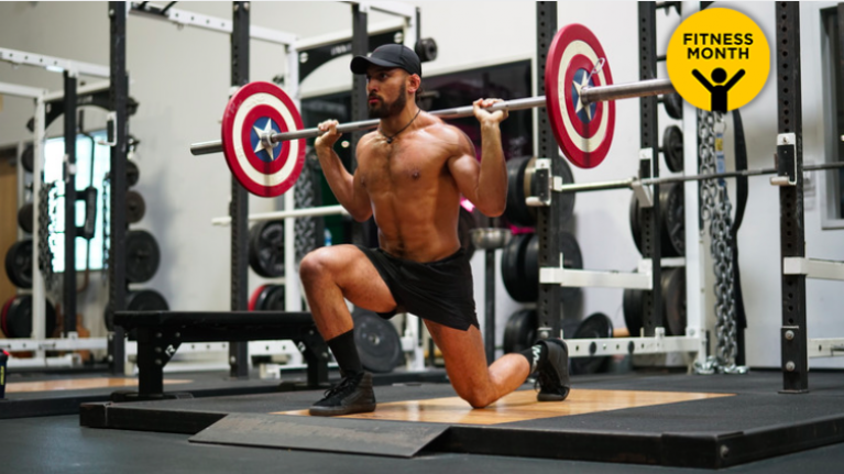 Full-body barbell workout for super strength and fat loss