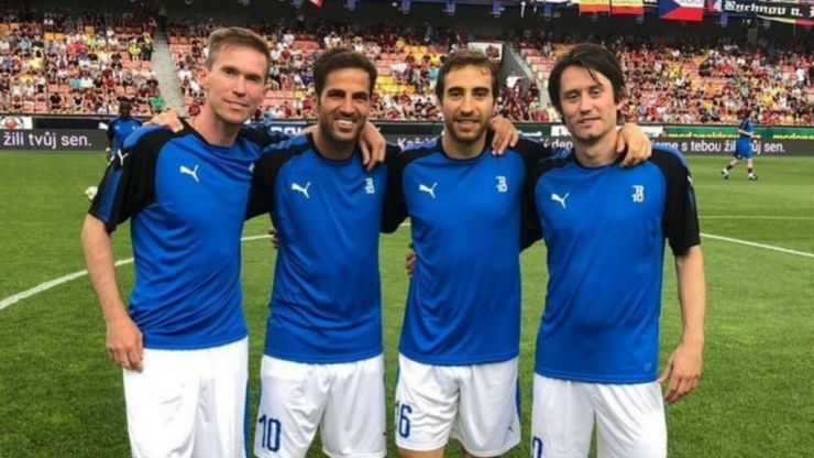 Arsenal legends reunite for Tomas Rosicky's testimonial