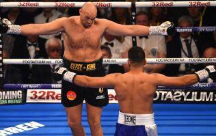 Tyson Fury responds to Tony Bellew's post-fight promise