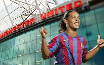 Ronaldinho was genuinely convinced he was joining Manchester United in 2003