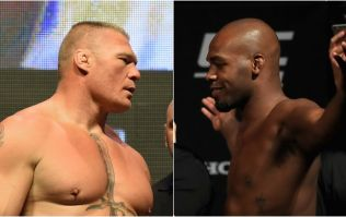 Brock Lesnar vs. Jon Jones is a possibility according to UFC President Dana White