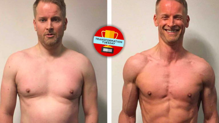 IT consultant ditches 4,000 calorie-a-day diet to get seriously ripped