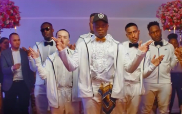 "Big Shaq gets married in the video for new song ""Man Don't Dance"""