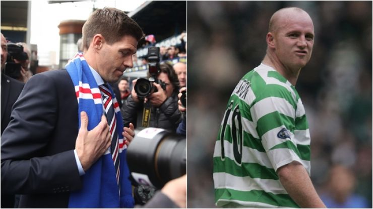 John Hartson has told Steven Gerrard to set a more realistic goal at Rangers