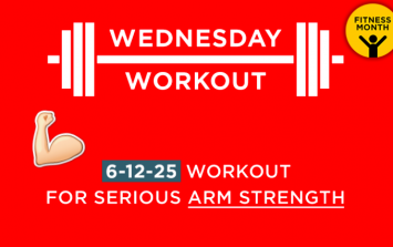 The 6-12-25 workout for serious arm size
