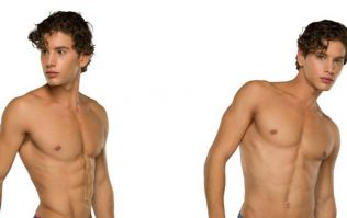 Eyal Booker used to be a swimwear model and this is what he looks like in Speedos