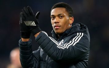 Anthony Martial's agent has got some very bad news for Manchester United fans