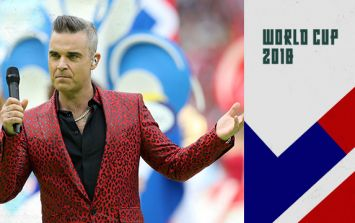 World Cup Moments: Robbie Williams wins the World Cup for England