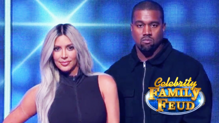 11 cringe moments from Kim and Kanye's Celebrity Family Feud appearance