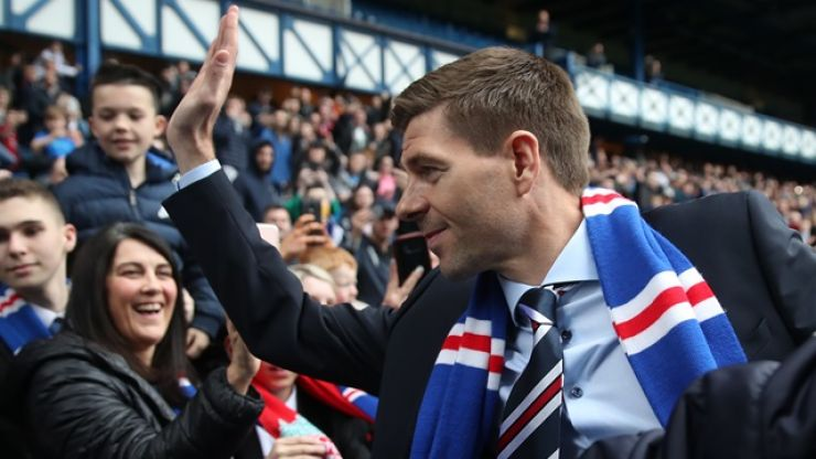 Steven Gerrard asks for supporters' help with new signing