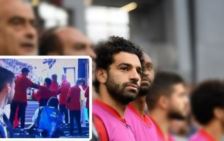 Mohamed Salah's reaction to pre-match shoulder pat did not go unnoticed
