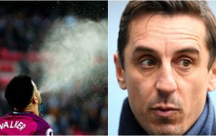 Kyle Walker takes umbrage with Gary Neville's claim about Harry Kane