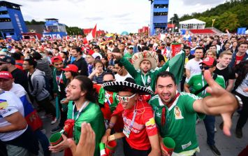 Mexico's World Cup goal celebrations literally caused an earthquake in Mexico City