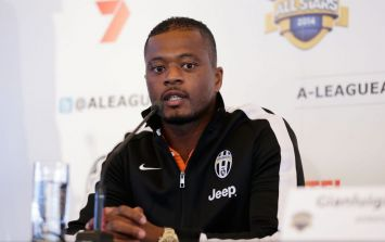 People are not impressed by Patrice Evra's reaction to Eni Aluko's punditry