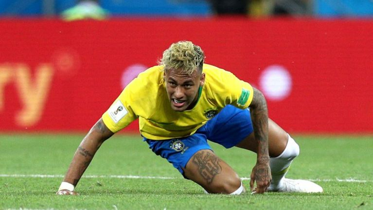 Neymar spotted limping after Brazil's opener as fears grow he could miss next World Cup game