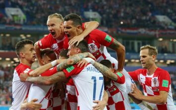 Croatia striker to be sent home after refusing to come on from the bench against Nigeria
