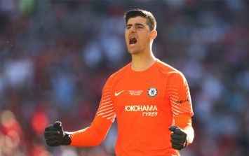 Chelsea's deleted tweet causes fans to worry over Thibaut Courtois' future