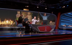 England fans loved the contrasting reactions to Harry Kane's winner in the BBC studio