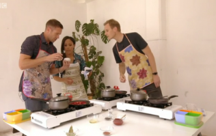 BBC did a pundit cook-off at half-time and it was absolutely ridiculous