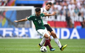 Carlos Vela posts tribute after grandfather dies a day after Mexico win against Germany