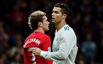 Cristiano Ronaldo is reportedly angry at Antoine Griezmann's new deal at Atletico Madrid