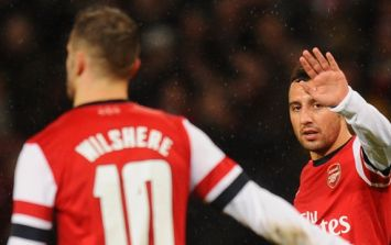 Santi Cazorla tells Jack Wilshere where to go after Arsenal career comes to an end